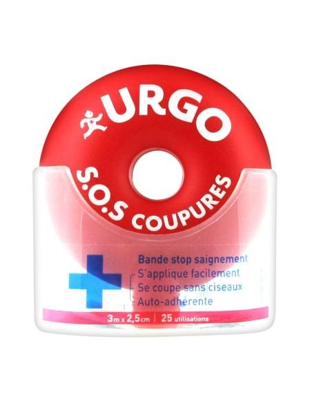 URGO S.O.S CORTES 3MX2.5 CM 25 APLICACIONES