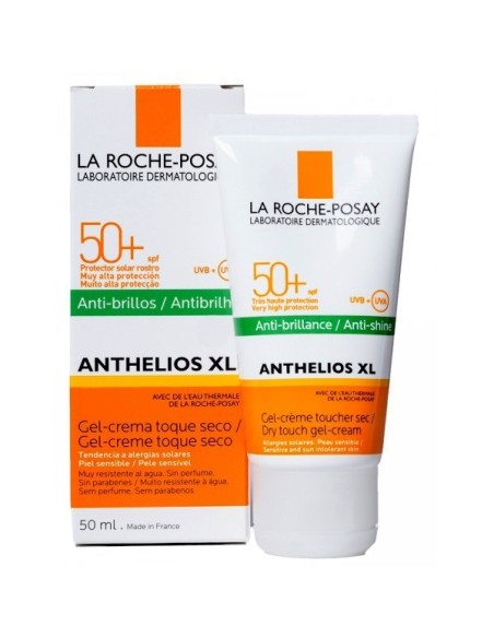 Anthelios XL spf 50 gel-crema toque seco 50 ml