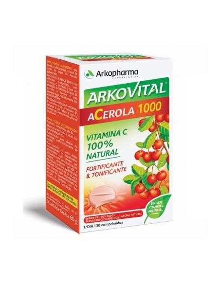 Arkovital Acerola 1000 Vitamina C 30 comprimidos
