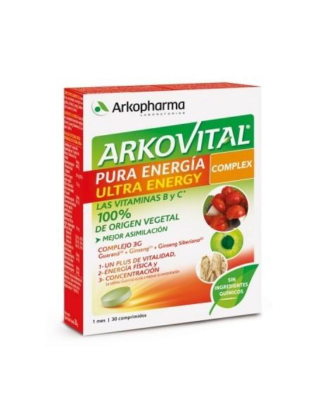 Arkovital Pura Energia Complex 30 Comprimidos