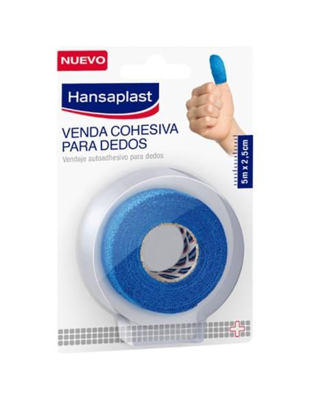 Hansaplast Venda Cohesiva para Dedos 5m x 2,5cm Azul