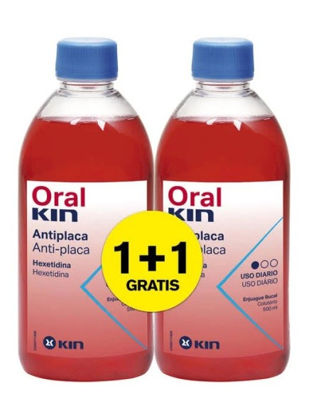 Oralkin Enjuague Bucal 2x500 ml