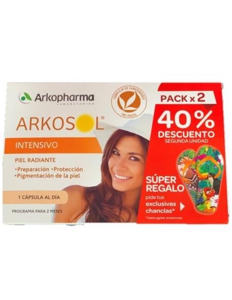 Arkopharma Arkosol Intensivo Pack Duplo 60 Cápsulas