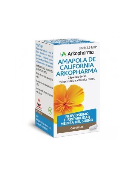 Arkopharma Amapola California 84 cápsulas